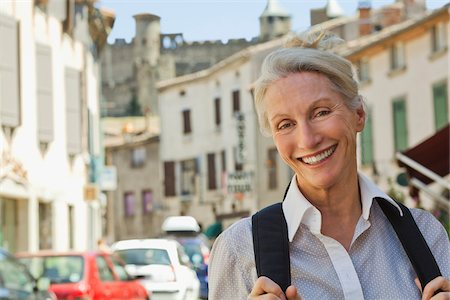 Portrait of Woman in France Stock Photo - Rights-Managed, Code: 700-05780989