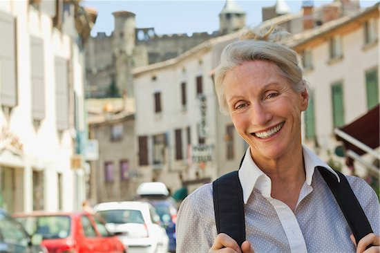 Portrait of Woman in France Stock Photo - Premium Rights-Managed, Artist: Strauss/Curtis, Image code: 700-05780989