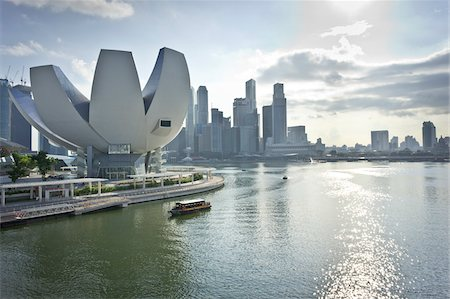 ArtScience Museum at Marina Bay Sands, Singapore Stock Photo - Rights-Managed, Code: 700-05781028
