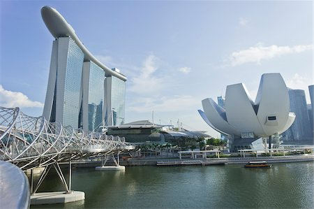 Marina Bay Sands and ArtScience Museum, Singapore Stock Photo - Rights-Managed, Code: 700-05781030