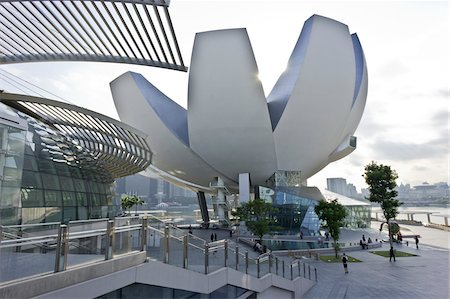 ArtScience Museum at Marina Bay Sands, Singapore Stock Photo - Rights-Managed, Code: 700-05781032