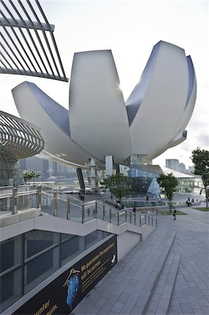 ArtScience Museum at Marina Bay Sands, Singapore Stock Photo - Rights-Managed, Code: 700-05781033
