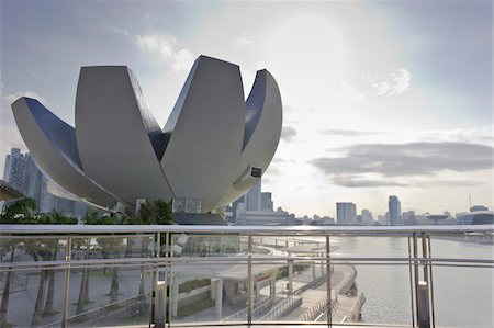 ArtScience Museum at Marina Bay Sands, Singapore Stock Photo - Rights-Managed, Code: 700-05781056