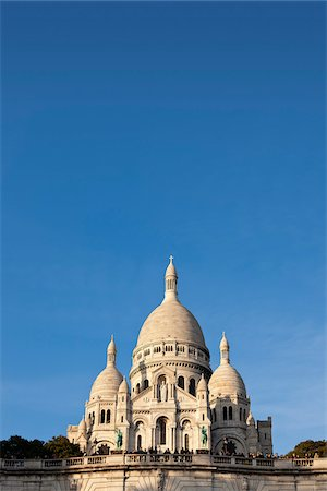 La Basilique du Sacre-Coeur, Paris, France Stock Photo - Rights-Managed, Code: 700-05803144