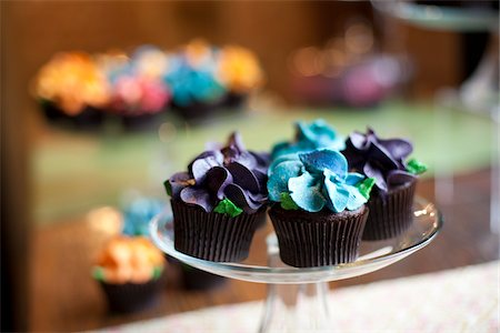 Cupcakes Stock Photo - Rights-Managed, Code: 700-05803287
