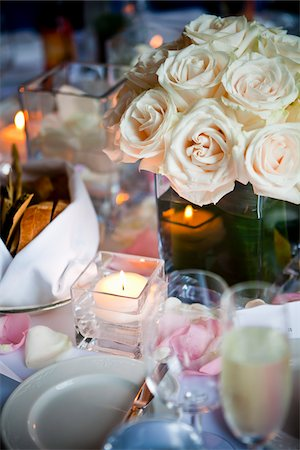 Wedding Table Decor Stock Photo - Rights-Managed, Code: 700-05803334