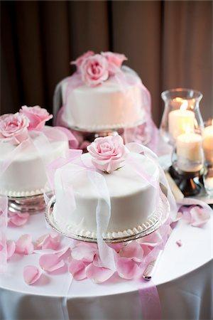 rose - Wedding Cake Stock Photo - Rights-Managed, Code: 700-05803333