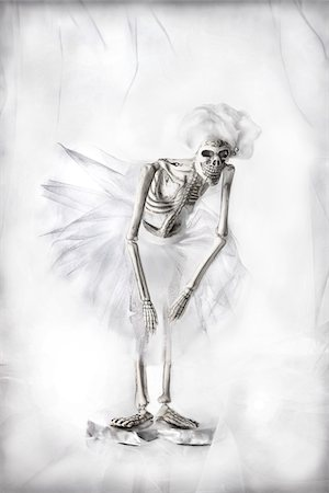 dead woman - Skeleton Ballet Dancer Stock Photo - Rights-Managed, Code: 700-05803457