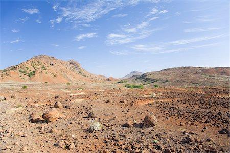Arid Landscape, Boa Vista, Cape Verde, Africa Stock Photo - Rights-Managed, Code: 700-05803478