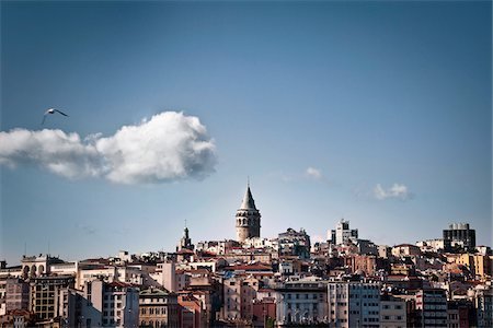 City Skyline, Istanbul, Turkey Stock Photo - Rights-Managed, Code: 700-05803490