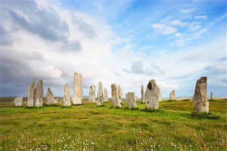 Callanish Stones, Callanish, Isle of Lewis, Outer Hebrides, Scotland Stock Photo - Rights-Managed, Code: 700-05803594