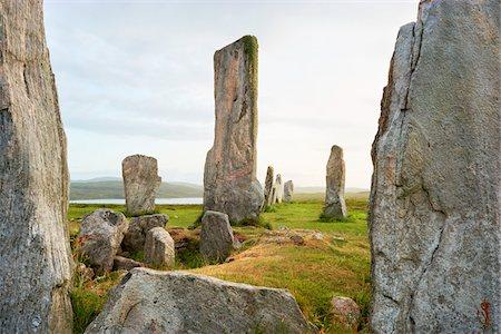 Callanish Stones, Callanish, Isle of Lewis, Outer Hebrides, Scotland Stock Photo - Rights-Managed, Code: 700-05803595