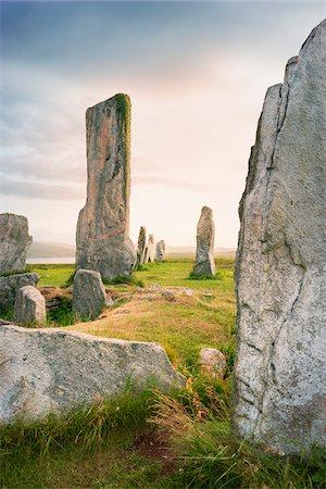 Callanish Stones, Callanish, Isle of Lewis, Outer Hebrides, Scotland Stock Photo - Rights-Managed, Code: 700-05803596