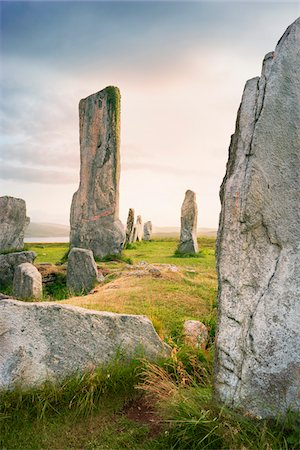 Callanish Stones, Callanish, Isle of Lewis, Outer Hebrides, Scotland Stock Photo - Rights-Managed, Code: 700-05803596