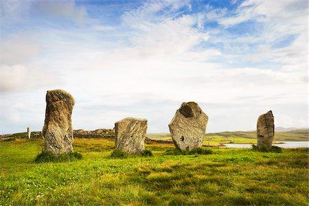 Callanish Stones, Callanish, Isle of Lewis, Outer Hebrides, Scotland Stock Photo - Rights-Managed, Code: 700-05803592