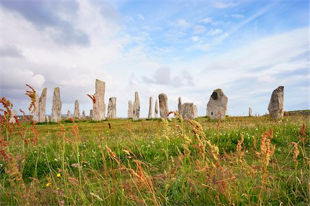 Callanish Stones, Callanish, Isle of Lewis, Outer Hebrides, Scotland Stock Photo - Rights-Managed, Code: 700-05803593