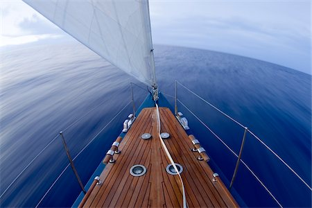 sailboat  ocean - Sailing on Atlantic Ocean Stock Photo - Rights-Managed, Code: 700-05803629