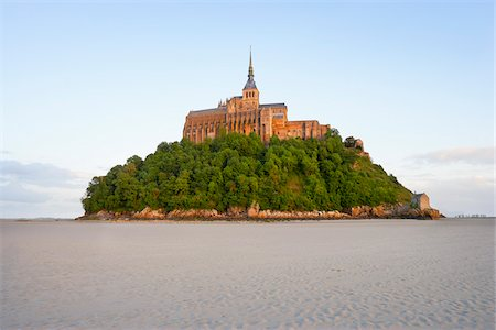 Mont-Saint-Michel, Normandy, France Stock Photo - Rights-Managed, Code: 700-05803737