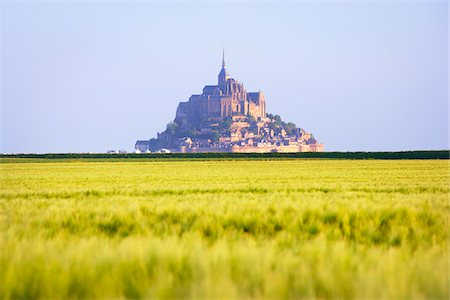Mont-Saint-Michel, Normandy, France Stock Photo - Rights-Managed, Code: 700-05803738