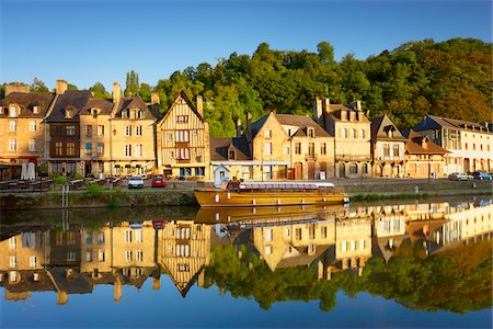Dinan and Rance River, Cotes-d'Armor, Bretagne, France Stock Photo - Rights-Managed, Code: 700-05803753