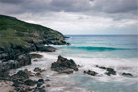 Rocky Coastline, Tolsta Head, Isle of Lewis, Outer Hebrides, Scotland Stock Photo - Rights-Managed, Code: 700-05803772