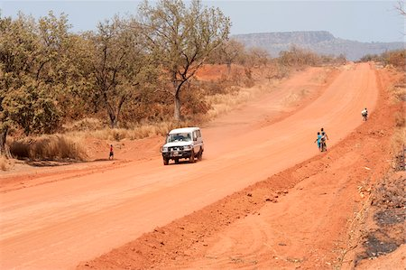dirt - Off Road Vehicle on Dirt Road, Mali, Africa Stock Photo - Rights-Managed, Code: 700-05810132