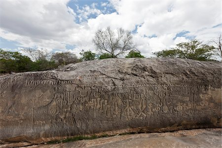 prehistoric - Inga Stone, Paraiba, Brazil Stock Photo - Rights-Managed, Code: 700-05810260