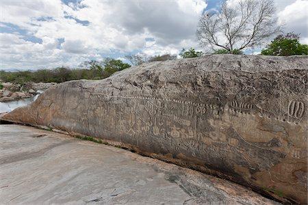 prehistoric - Inga Stone, Paraiba, Brazil Stock Photo - Rights-Managed, Code: 700-05810263