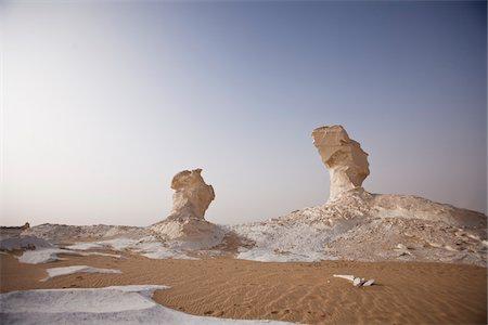 Rock Formations, White Desert, Libyan Desert, Egypt Stock Photo - Rights-Managed, Code: 700-05821787