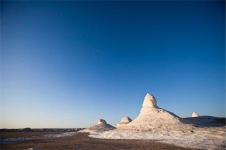Rock Formations, White Desert, Western Desert, Egypt Stock Photo - Rights-Managed, Code: 700-05821783