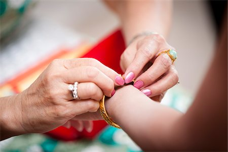 ring hand woman - Tea Ceremony During Chinese Wedding Stock Photo - Rights-Managed, Code: 700-05821805