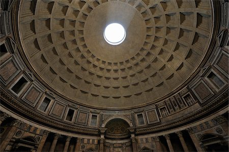 Detail of the Pantheon, Rome, Lazio, Italy Stock Photo - Rights-Managed, Code: 700-05821966