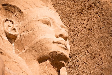 egypt - Close-Up of Statue, The Great Temple, Abu Simbel, Nubia, Egypt Stock Photo - Rights-Managed, Code: 700-05822064