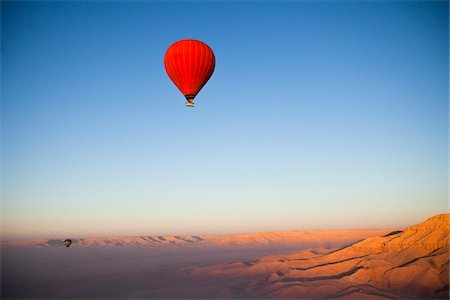 red - Hot Air Balloon, Luxor, Egypt Stock Photo - Rights-Managed, Code: 700-05822138