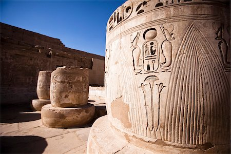 egyptian hieroglyphics - Close-Up of Hierglyphics, Luxor, Egypt Stock Photo - Rights-Managed, Code: 700-05822140