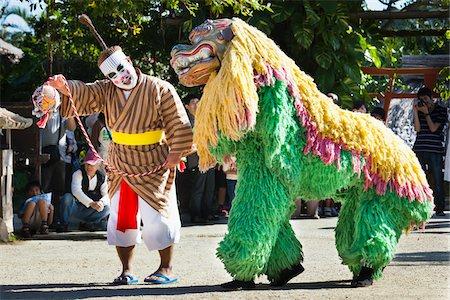 Performers at Ryukyu Mura, Onna, Okinawa, Ryukyu Islands, Japan Stock Photo - Rights-Managed, Code: 700-05837407