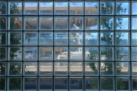 Glass Block Building Facade, Gardemoen Airport, Oslo, Norway Stock Photo - Rights-Managed, Code: 700-05837490