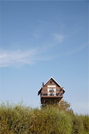quaint house - Small, Elevated House, Rerik, Mecklenburg-Vorpommern, Germany Stock Photo - Rights-Managed, Code: 700-05854186