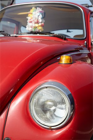 Close-up of Volkswagen Beetle, Soorts-Hossegor, Aquitaine, France Stock Photo - Rights-Managed, Code: 700-05854196