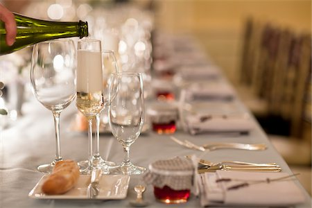 Pouring Champagne Stock Photo - Rights-Managed, Code: 700-05855054