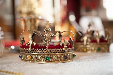 Close-Up of Crown Stock Photo - Rights-Managed, Code: 700-05855058