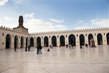 Al-Hakim Mosque, Cairo, Egypt Stock Photo - Rights-Managed, Code: 700-05855099