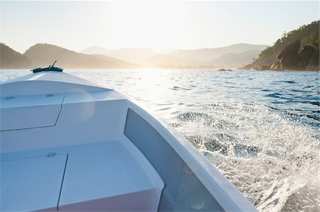 Boating near Praia do Sono, Paraty, Costa Verde, Brazil Stock Photo - Rights-Managed, Code: 700-05947862
