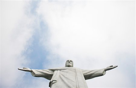 Christ the Redeemer Statue, Rio de Janeiro, Brazil Stock Photo - Rights-Managed, Code: 700-05947874