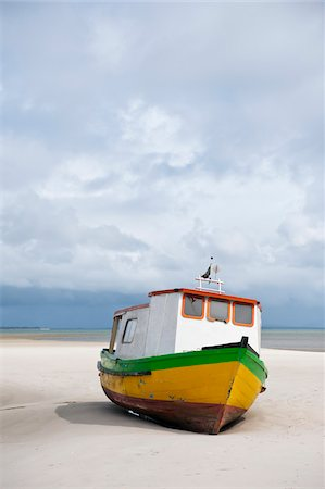 Boat on Beach, Ilha do Mel, Parana, Brazil Stock Photo - Rights-Managed, Code: 700-05947871