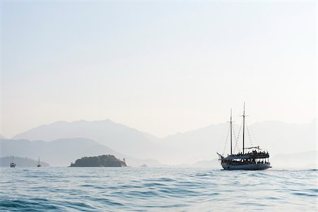Boat, near Paraty, Rio de Janeiro, Brazil Stock Photo - Rights-Managed, Code: 700-05947889