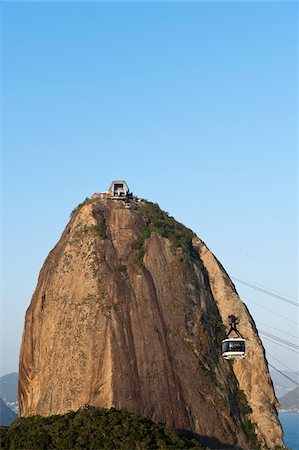 Sugarloaf Mountain, Rio de Janeiro, Brazil Stock Photo - Rights-Managed, Code: 700-05947897