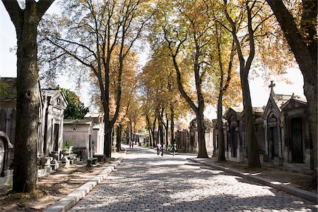 france - France, Paris, Pere Lachaise Cemetery Stock Photo - Rights-Managed, Code: 700-05948069