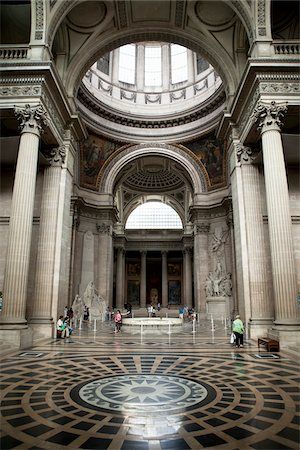 design (motif, artistic composition or finished product) - Interior of La Sorbonne, Pantheon-Sorbonne University, Paris, France Stock Photo - Rights-Managed, Code: 700-05948077
