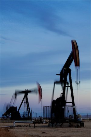 Oil Pump Jacks, California, USA Stock Photo - Rights-Managed, Code: 700-05948231